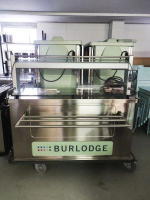 Ruoankuljetus- ja tarjoiluvaunu Burlodge Metos