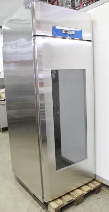 Vaunutäyttöinen kylmäkaappi lasiovella Porkka